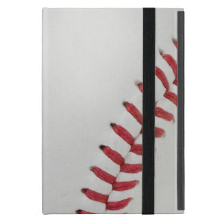 Baseball Fan-tastic_Color Laces_rd_bk_personalized Covers For iPad Mini