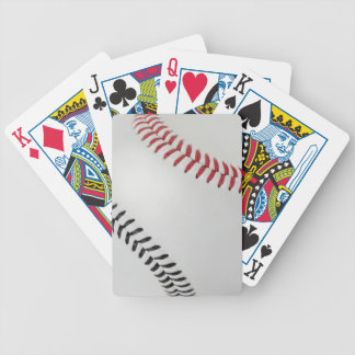Baseball Fan-tastic_Color Laces_rd_bk Bicycle Playing Cards