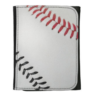 Baseball Fan-tastic_Color Laces_rd_bk Wallets