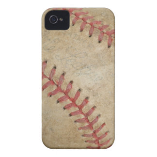 Baseball Fan-tastic_dirty ball _autograph ready Case-Mate iPhone 4 Case