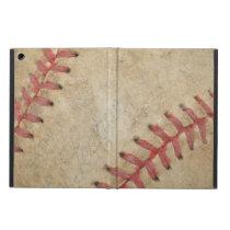 Baseball Fan-tastic_Dirty Ball _autograph ready Cover For iPad Air