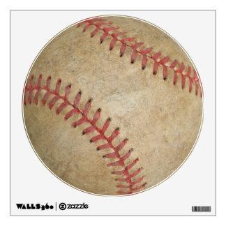 Baseball Fan-tastic_dirty ball_Balls 2 the wall Wall Decal