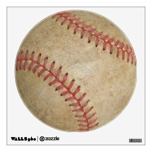 Baseball Fan-tastic_dirty ball_Balls 2 the wall Wall Graphic