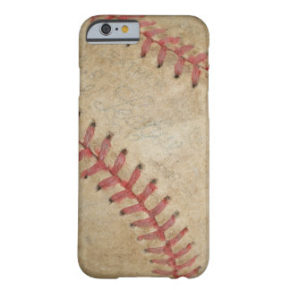 Baseball Fan-tastic_dirty ball Barely There iPhone 6 Case