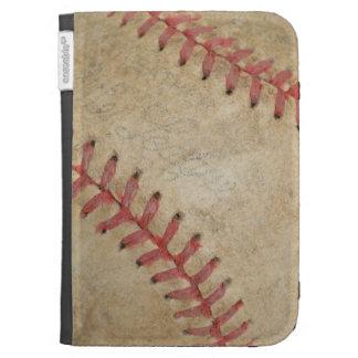 Baseball Fan-tastic_dirty ball_custom designed Kindle Cover