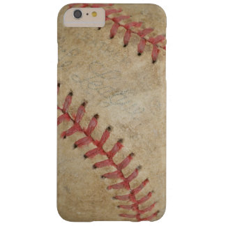 Baseball Fan-tastic_dirty ball_old school Barely There iPhone 6 Plus Case