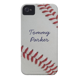 Baseball Fan-tastic pitch perfect autograph-style iPhone 4 Cover