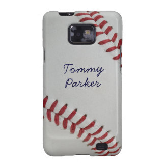 Baseball Fan-tastic pitch perfect autograph-style Samsung Galaxy Cases