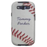 Baseball Fan-tastic pitch perfect autograph-style Samsung Galaxy SIII Case
