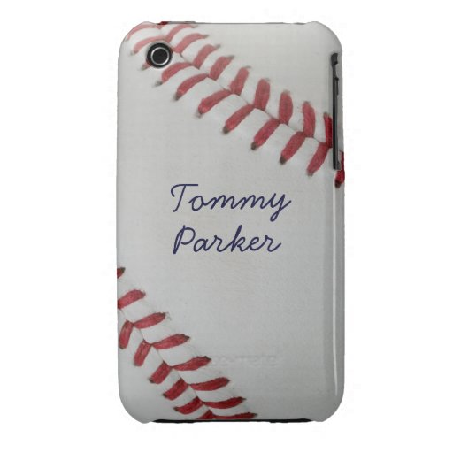 Baseball Fan-tastic pitch perfect autograph-style iPhone 3 Case-Mate Case