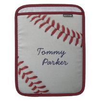 Baseball Fan-tastic_Pitch Perfect autograph style iPad Sleeve