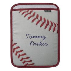 Baseball Fan-tastic_pitch Perfect Autograph Style Ipad Sleeve at Zazzle