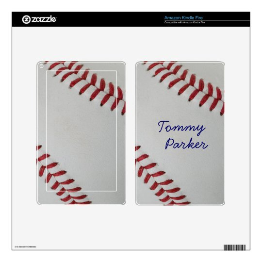 Baseball Fan-tastic_pitch perfect _Autograph Style Kindle Fire Decals