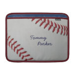 Baseball Fan-tastic_Pitch Perfect autograph style MacBook Sleeves