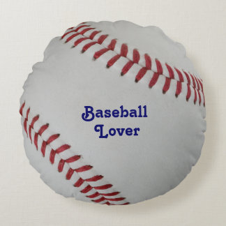 Baseball Fan-tastic_pitch perfect_Baseball Lover Round Pillow