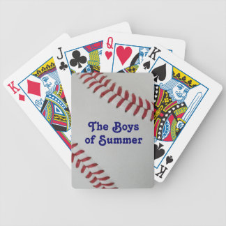Baseball Fan-tastic_pitch perfect_Boys of Summer Bicycle Playing Cards
