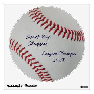 Baseball Fan-tastic_pitch perfect_League Champs Wall Sticker