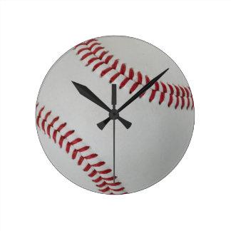 Baseball Fan-tastic_pitch perfect Round Clock