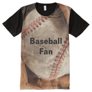 Baseball Fan Theme All-Over Print T-shirt