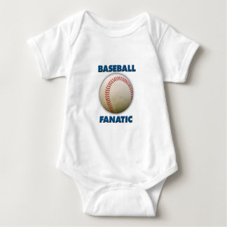 Baseball Fanatic Baby Bodysuit