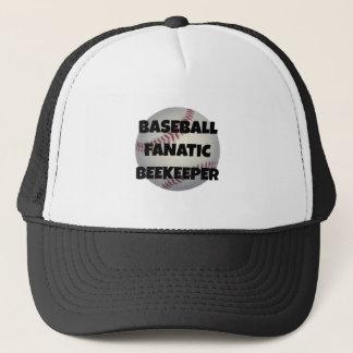 Baseball Fanatic Beekeeper Trucker Hat