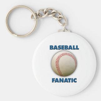 Baseball Fanatic Keychain