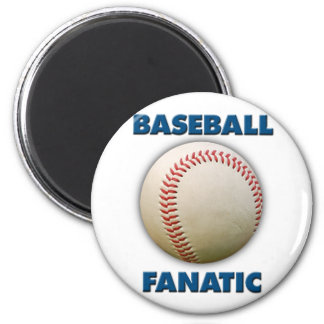 Baseball Fanatic Magnet