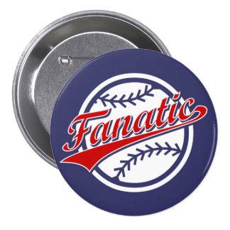 Baseball Fanatic Pinback Button