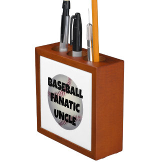 Baseball Fanatic Uncle Desk Organizers
