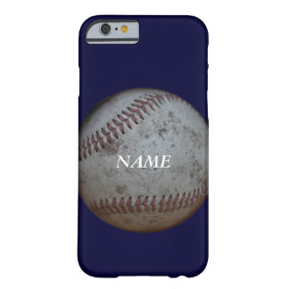 Baseball Fans *Add your name* Barely There iPhone 6 Case