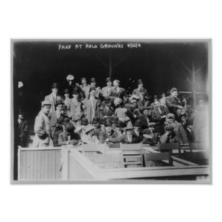 Baseball fans - at Polo Grounds, N.Y. in 1911 Print