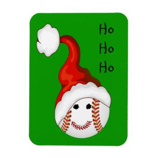 Baseball fans Christmas Magnet