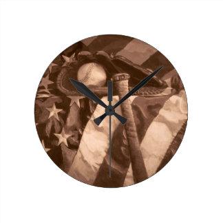 Baseball Fan's Clock