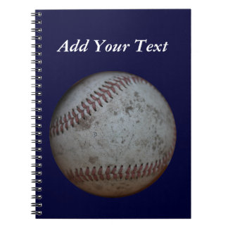 Baseball Fans Customizable Notebook