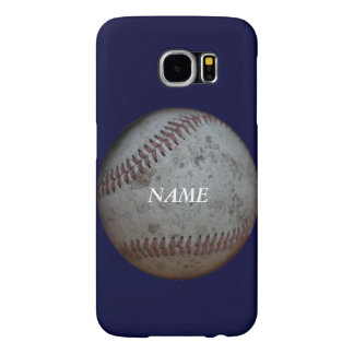 Baseball Fans Personalized Samsung Galaxy S6 Cases