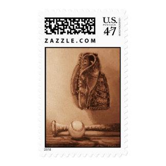 Baseball Fan's Stamp