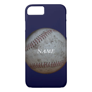 Baseball Fans With Name Blue iPhone 7 Case