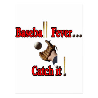 Baseball Fever... Catch it! T-shirt Postcard