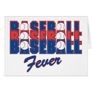 Baseball Fever Greeting Card