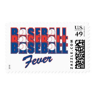 Baseball Fever Stamp