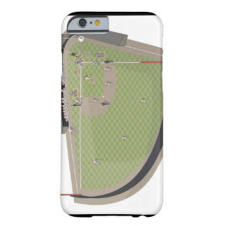 Baseball field barely there iPhone 6 case