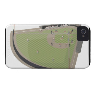 Baseball field Case-Mate iPhone 4 case