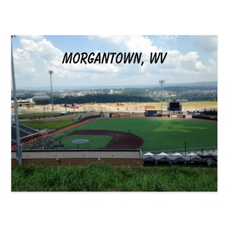 Baseball Field near Morgantown, WV Postcards