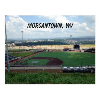 Baseball Field near Morgantown, WV Postcards