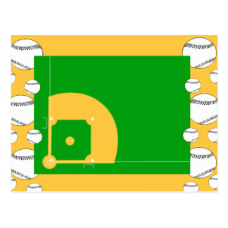 Baseball Field Postcard