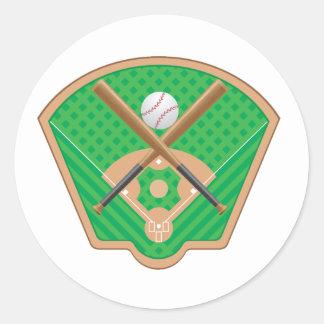 Baseball Field Stickers