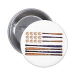baseball flag buttons