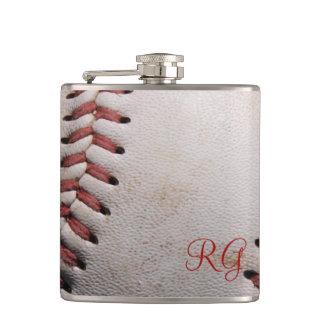 Baseball Hip Flask