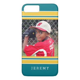 Baseball Football Sports Stripes Photo Portrait iPhone 7 Plus Case