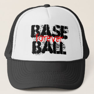 baseball forever trucker hat